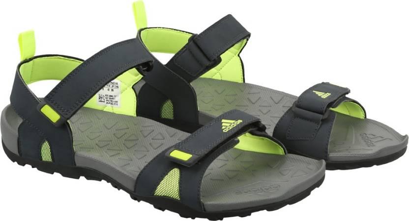 c4905c5a700a ADIDAS Men DKGREY VISGRE SYELLO Sports Sandals - Buy DKGREY VISGRE ...