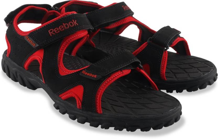 0a5a647bc62b REEBOK Men BLACK RED RUSH EARTH Sports Sandals - Buy BLACK RED RUSH EARTH  Color REEBOK Men BLACK RED RUSH EARTH Sports Sandals Online at Best Price -  Shop ...