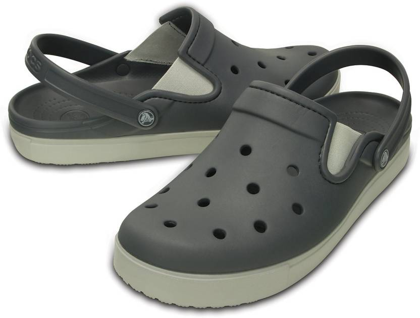 610c13224d98 Crocs Women Grey Clogs - Buy 201831-01R Color Crocs Women Grey Clogs Online  at Best Price - Shop Online for Footwears in India