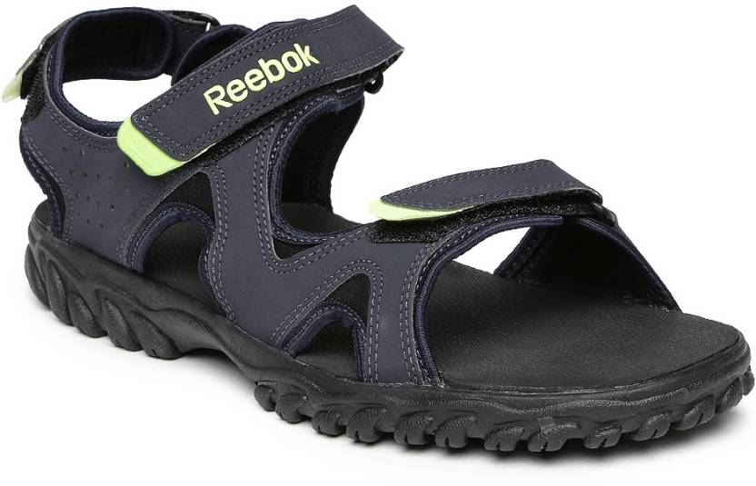088998f24a6b REEBOK Men Navy Sports Sandals - Buy Navy Color REEBOK Men Navy Sports  Sandals Online at Best Price - Shop Online for Footwears in India