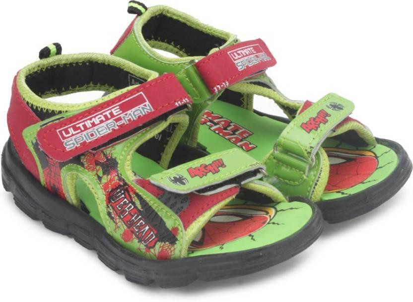 4e13f2203 Spiderman Boys Sports Sandals Price in India - Buy Spiderman Boys ...