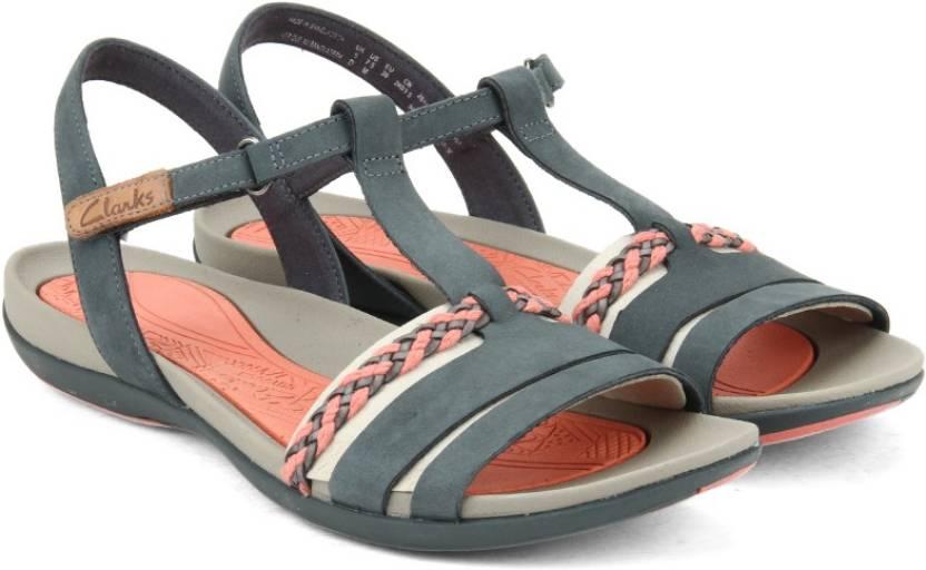 581727c623ee Clarks Women NAVY NUBUCK Sports Sandals - Buy NAVY NUBUCK Color Clarks  Women NAVY NUBUCK Sports Sandals Online at Best Price - Shop Online for  Footwears in ...