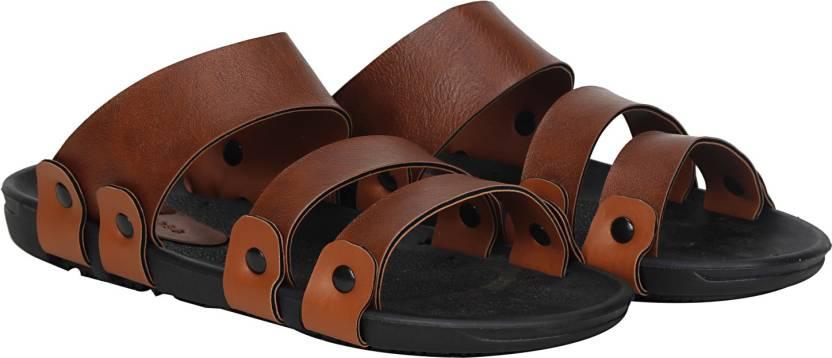 4da9f0375e61 Kraasa Men Tan Sandals - Buy Tan Color Kraasa Men Tan Sandals Online ...