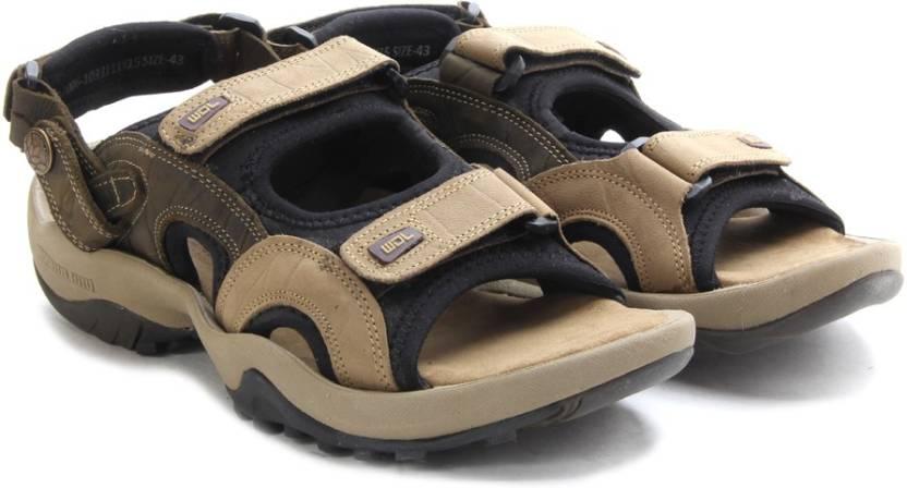 a43305f81a63 Woodland Men Khaki Sports Sandals - Buy Khaki Color Woodland Men ...