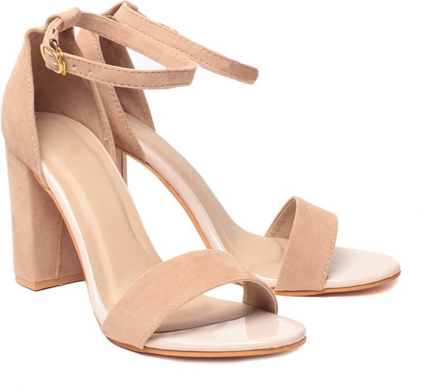 Klaur Melbourne Women Cream Heels - Buy Cream Color Klaur ...