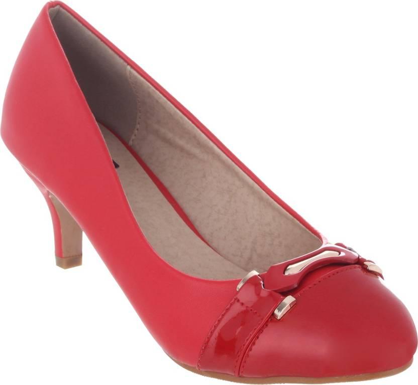 ee8ee7b653ba Shuz Touch Women RED Bellies - Buy RED Color Shuz Touch Women RED Bellies  Online at Best Price - Shop Online for Footwears in India