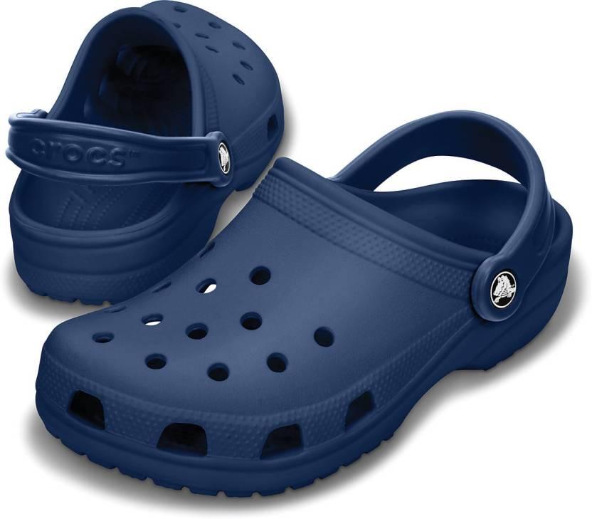 c789d81bc9ef Crocs Men Navy Clogs - Buy 10001-410 Color Crocs Men Navy Clogs Online at  Best Price - Shop Online for Footwears in India