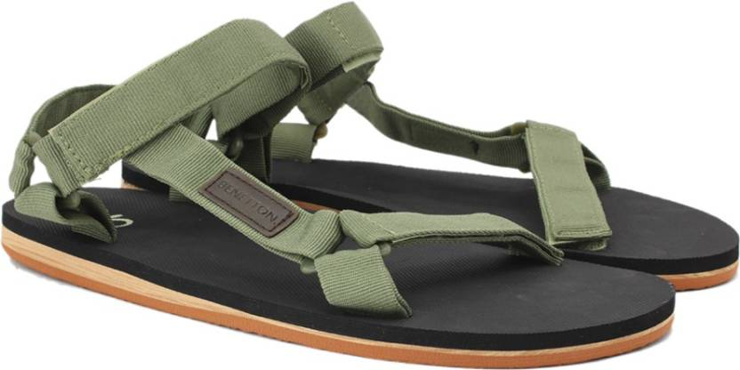 cbf2134b6f8eb United Colors of Benetton Men 901 Sports Sandals - Buy DULL GREEN Color  United Colors of Benetton Men 901 Sports Sandals Online at Best Price -  Shop Online ...