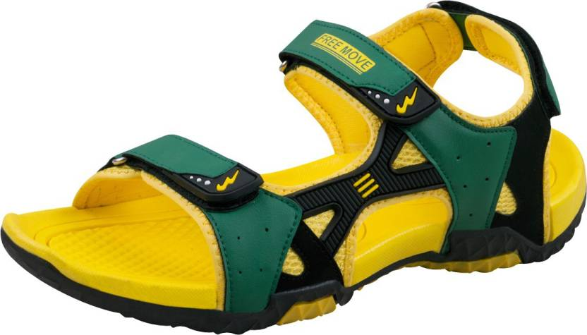 15b27316be7 Campus Men Yellow Sports Sandals - Buy Yellow Color Campus Men Yellow  Sports Sandals Online at Best Price - Shop Online for Footwears in India