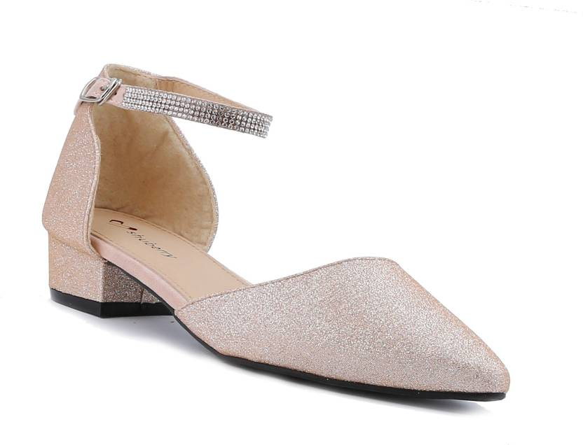 Shuberry Women Champagne Heels