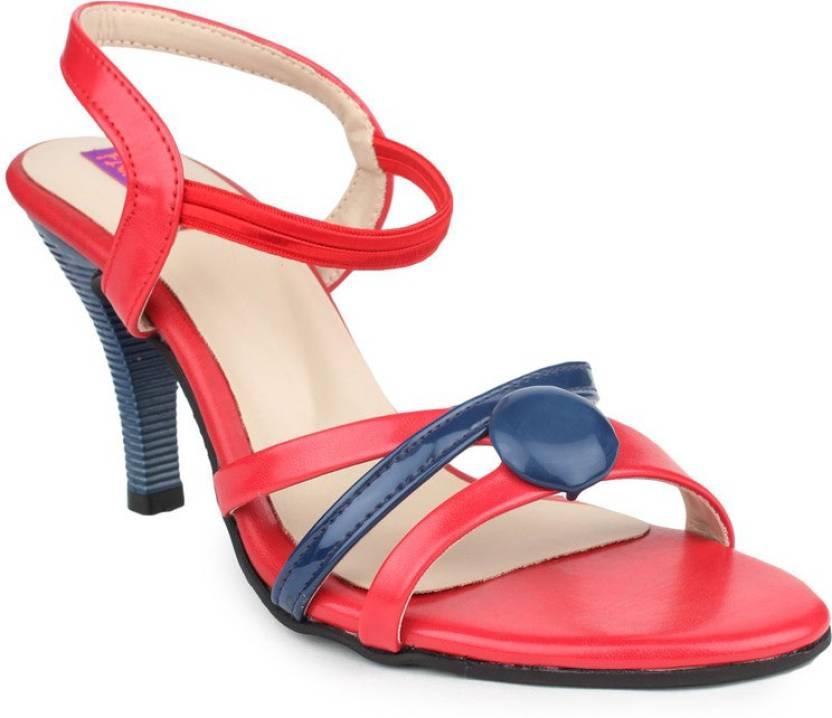 c7df9f79ed9 Fiorella Women Blue Heels - Buy Blue Color Fiorella Women Blue Heels Online  at Best Price - Shop Online for Footwears in India