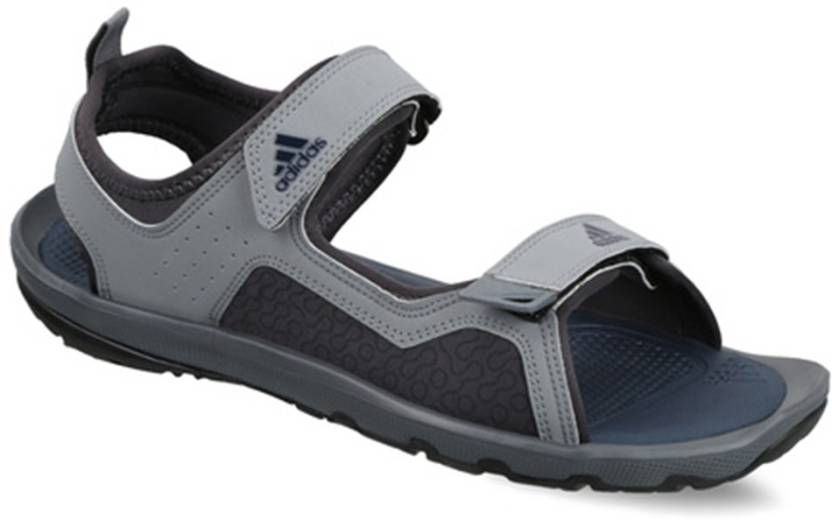 d2b668663 ADIDAS Men Grey Sandals - Buy Grey Color ADIDAS Men Grey Sandals Online at  Best Price - Shop Online for Footwears in India