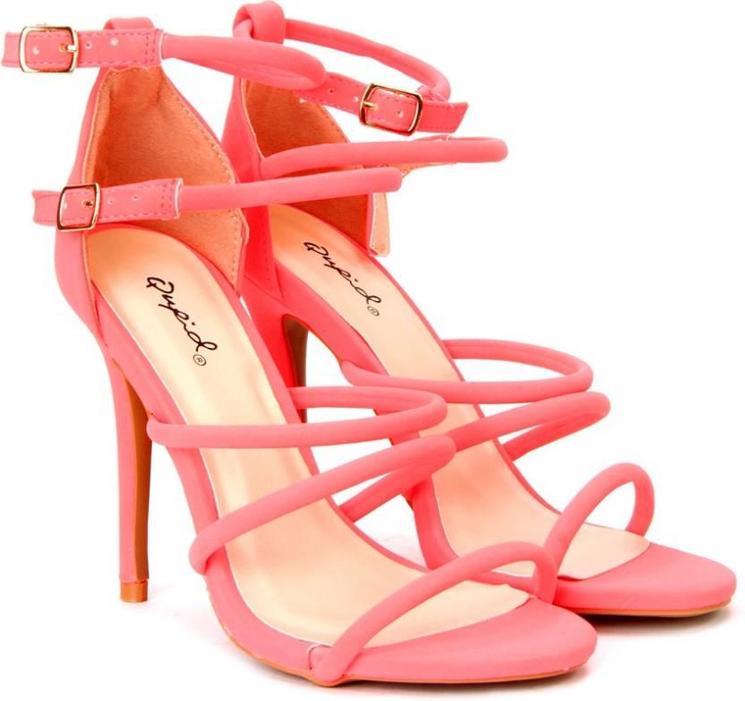 d3c355805ea QUPID Women NECONU Heels - Buy NECONU Color QUPID Women NECONU Heels Online  at Best Price - Shop Online for Footwears in India
