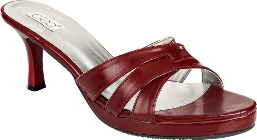 Khadim s Women Maroon Heels - Buy Maroon Color Khadim s Women Maroon Heels  Online at Best Price - Shop Online for Footwears in India  d64f1ad3d