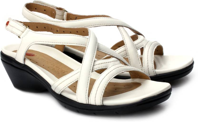 8bc8d389e520a Clarks Women Off White Le Heels - Buy Off White Color Clarks Women Off  White Le Heels Online at Best Price - Shop Online for Footwears in India