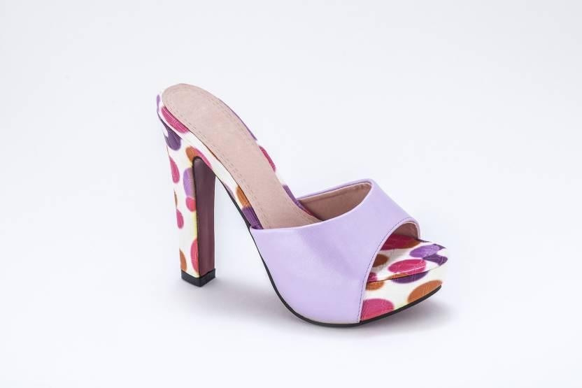 0cae5000ab13 Nina Feliz Women ORANGE Heels - Buy ORANGE Color Nina Feliz Women ORANGE Heels  Online at Best Price - Shop Online for Footwears in India