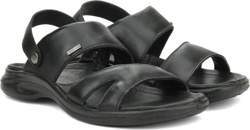 Woodland Men BLACK Sports Sandals