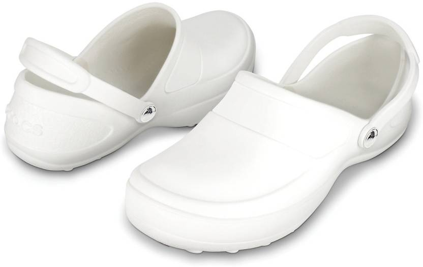 b4117c2ba Crocs Women White Clogs - Buy 10876-143 Color Crocs Women White Clogs  Online at Best Price - Shop Online for Footwears in India