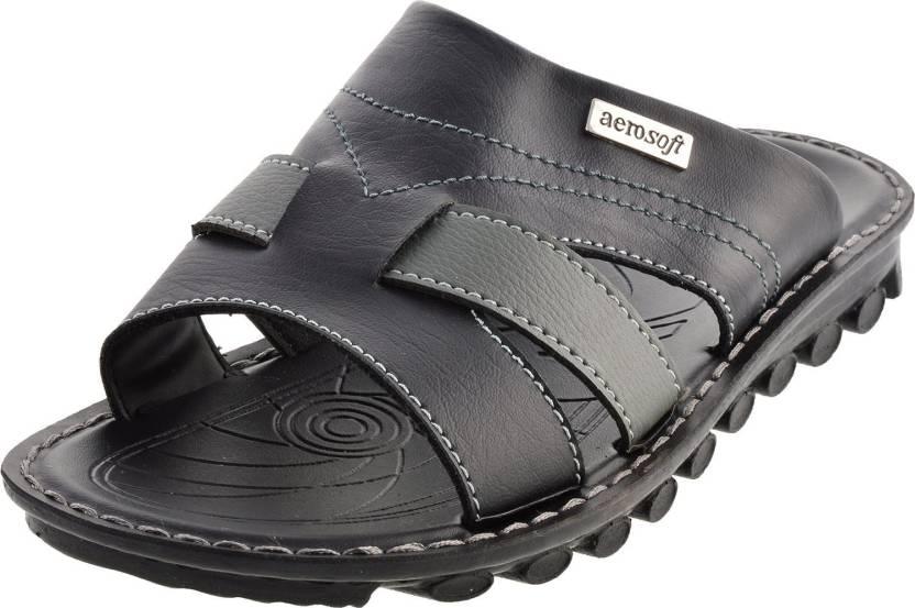 7057ec72dae Aerosoft Men Black Flats - Buy Black Color Aerosoft Men Black Flats Online  at Best Price - Shop Online for Footwears in India