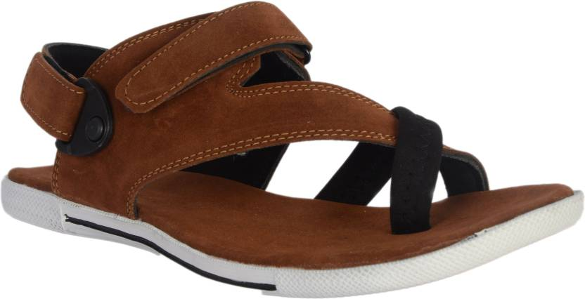 Barreto Men Tan Sandals