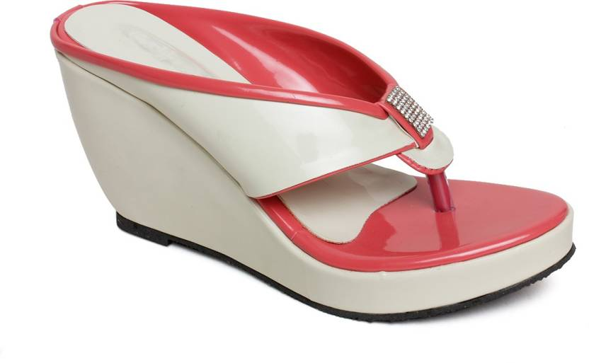 4916a6c17 Bare Soles Women cream Wedges - Buy cream Color Bare Soles Women cream  Wedges Online at Best Price - Shop Online for Footwears in India
