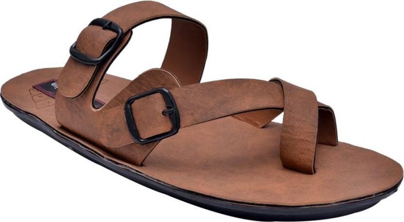 f6670970e7c0 Fentacia Men Tan Sandals - Buy Tan Color Fentacia Men Tan Sandals Online at Best  Price - Shop Online for Footwears in India