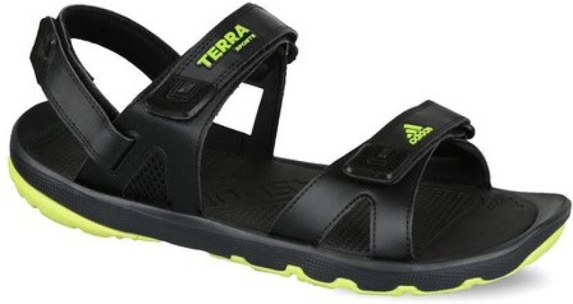 7cabd821d41b7c ADIDAS Men Black Sandals - Buy Black Color ADIDAS Men Black Sandals Online  at Best Price - Shop Online for Footwears in India