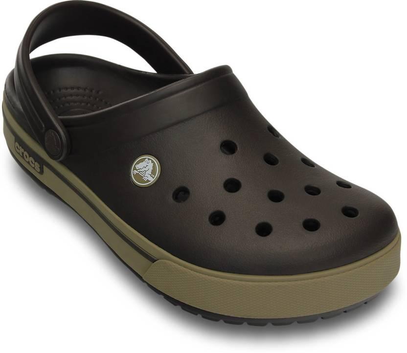 5c8dbc874bec31 Crocs Men Brown Sandals - Buy 12836-22Y Color Crocs Men Brown Sandals  Online at Best Price - Shop Online for Footwears in India