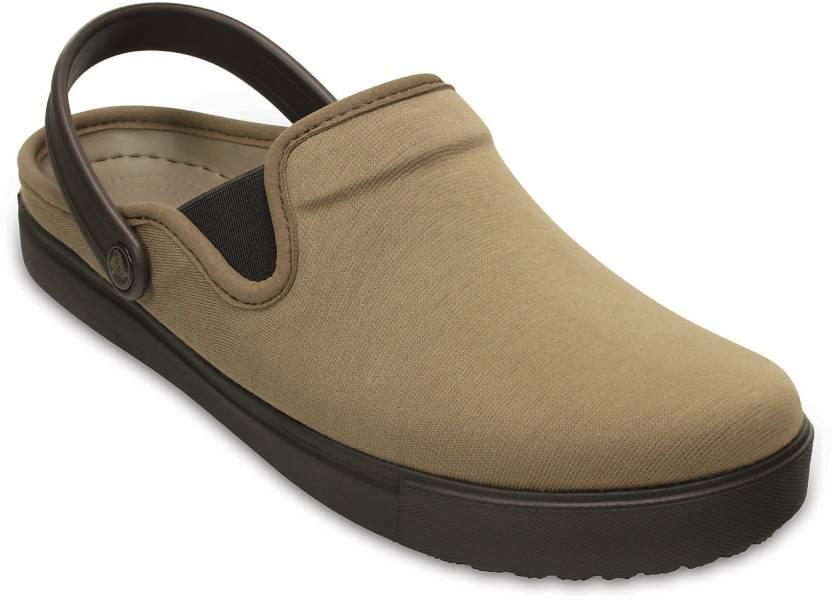 459141b93 Crocs Men Brown Clogs - Buy 202832-23G Color Crocs Men Brown Clogs Online  at Best Price - Shop Online for Footwears in India