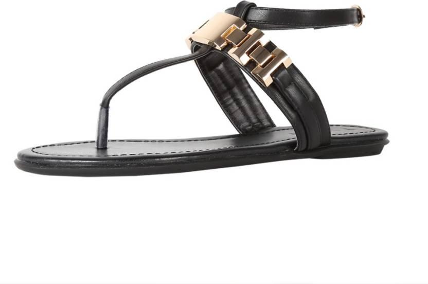 45de166fc0 Van Heusen Women Black Flats - Buy Black Color Van Heusen Women Black Flats  Online at Best Price - Shop Online for Footwears in India