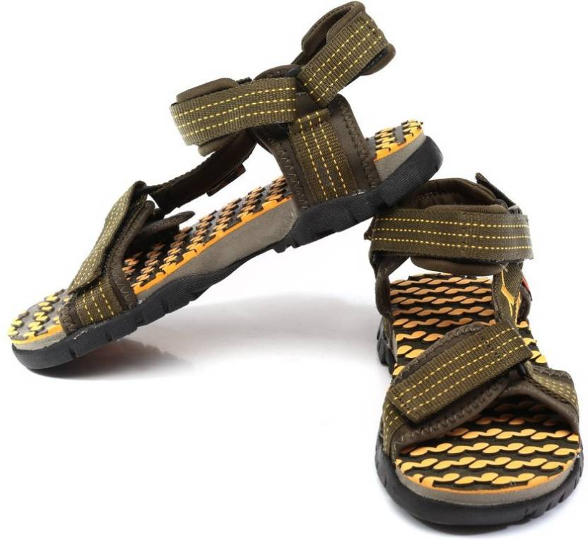 9d06b2086e43cd Sparx Men Olive Yellow Sandals - Buy Olive Yellow Color Sparx Men Olive Yellow  Sandals Online at Best Price - Shop Online for Footwears in India