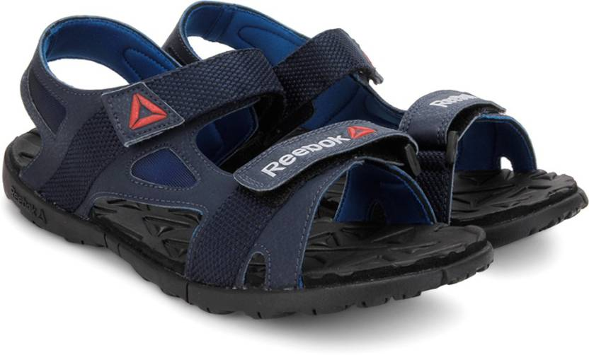 07bf2fbf2c6c REEBOK Men COLL NAVY BLUE SPORT BLK Sports Sandals - Buy COLL NAVY BLUE  SPORT BLK Color REEBOK Men COLL NAVY BLUE SPORT BLK Sports Sandals Online  at Best ...