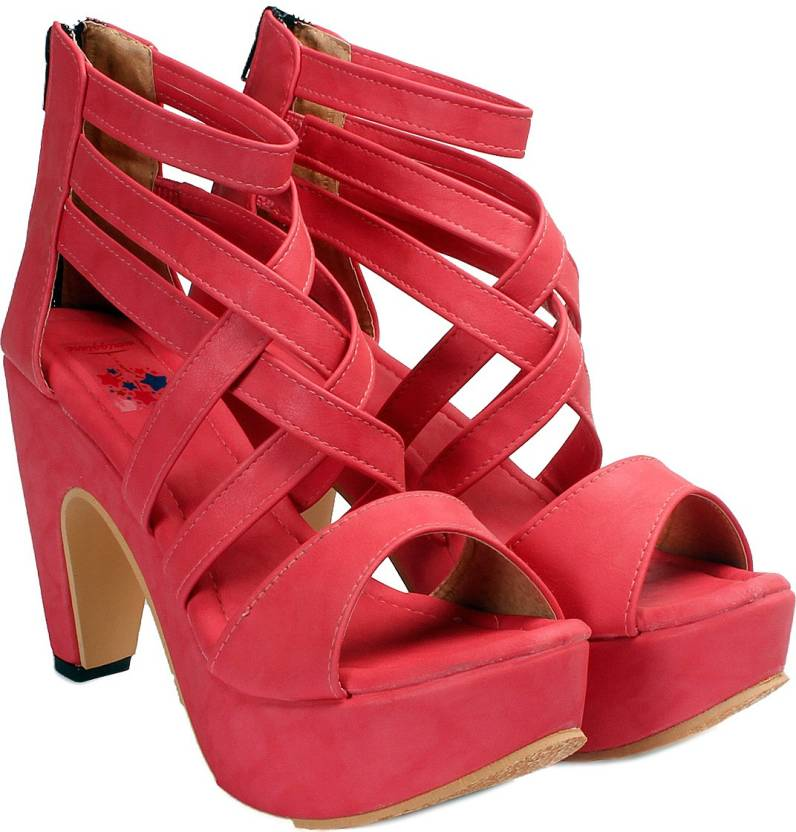 a06e76be557 Meriggiare Women Red Heels