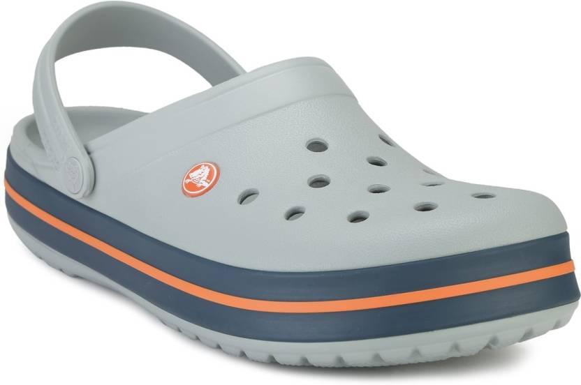 1167c7b4 Crocs Men Grey Clogs - Buy 11016-01U Color Crocs Men Grey Clogs Online at Best  Price - Shop Online for Footwears in India | Flipkart.com