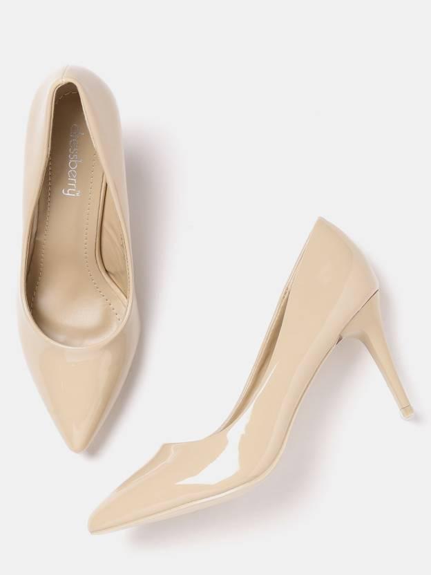 b7b47364116 Dressberry Women Beige Heels - Buy Beige Color Dressberry Women ...
