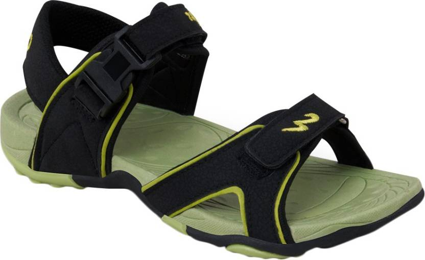 7693dba0633 Campus Men Black Sports Sandals - Buy Black Color Campus Men Black Sports  Sandals Online at Best Price - Shop Online for Footwears in India