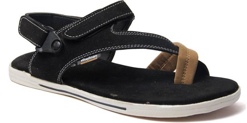 41fef7e27f6 Binutop Men Black Sports Sandals - Buy Black Color Binutop Men Black Sports  Sandals Online at Best Price - Shop Online for Footwears in India