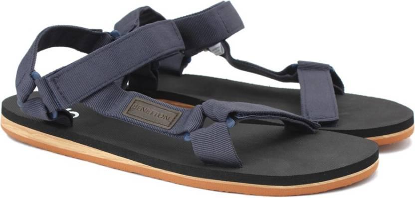 dcb1b2192298e United Colors of Benetton Men 904 Sports Sandals - Buy NAVY BLUE Color  United Colors of Benetton Men 904 Sports Sandals Online at Best Price -  Shop Online ...