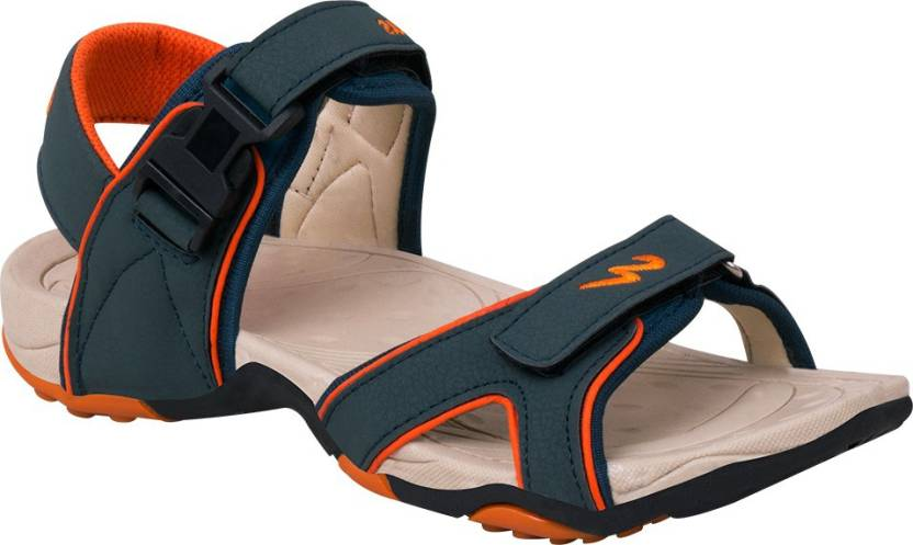 28b8be9554c Campus Men Orange Sports Sandals - Buy Orange Color Campus Men Orange  Sports Sandals Online at Best Price - Shop Online for Footwears in India
