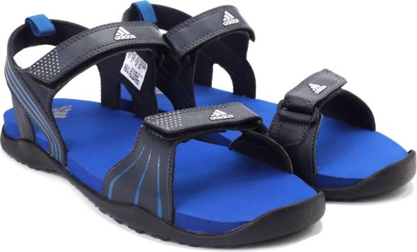80fc1d2c6423f ADIDAS Men NTNAVY EQTBLU SILVMT Sports Sandals - Buy NTNAVY EQTBLU SILVMT  Color ADIDAS Men NTNAVY EQTBLU SILVMT Sports Sandals Online at Best Price -  Shop ...