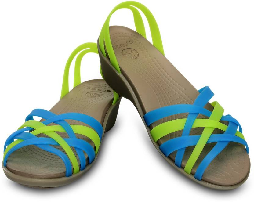 2beacb7e1f53 Crocs Women Blue Wedges - Buy 14384-4G6 Color Crocs Women Blue Wedges Online  at Best Price - Shop Online for Footwears in India