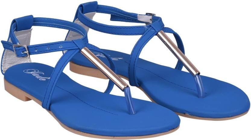eada8ef5e3132 Jade Women Blue Flats - Buy Blue Color Jade Women Blue Flats Online at Best  Price - Shop Online for Footwears in India