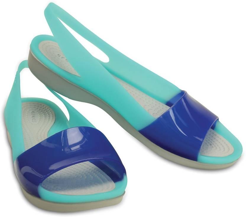 848f8f04e Crocs Women Blue Flats - Buy 200032-4CU Color Crocs Women Blue Flats Online  at Best Price - Shop Online for Footwears in India