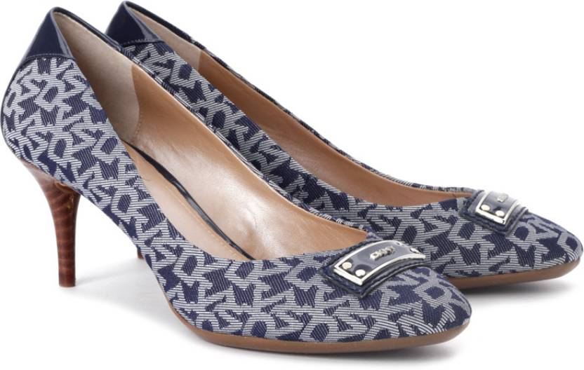 76fe809b39e4 DKNY Women Denim Heels - Buy Denim Color DKNY Women Denim Heels Online at  Best Price - Shop Online for Footwears in India