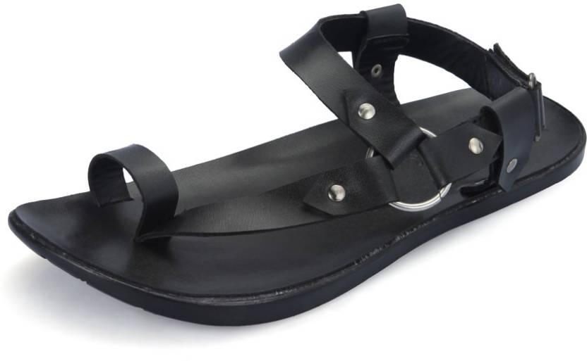 98ae31f66173 Lee Fox Men Black Flats - Buy Black Color Lee Fox Men Black Flats Online at  Best Price - Shop Online for Footwears in India