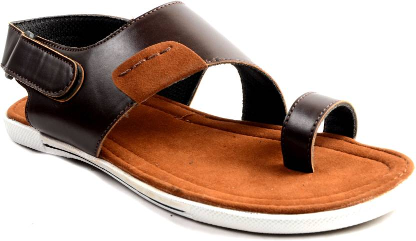 6b85aa6282f0 Shoegaro Men Brown Sandals - Buy Brown Color Shoegaro Men Brown Sandals  Online at Best Price - Shop Online for Footwears in India