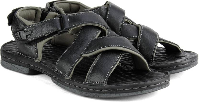 online store 6729a a9b02 Lee Cooper Men Black Sports Sandals - Buy Black Color Lee Cooper Men Black  Sports Sandals Online at Best Price - Shop Online for Footwears in India ...