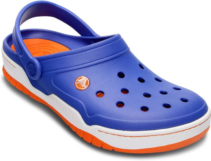 356ddfcbcc6bf7 Crocs Men Blue Clogs - Buy 14300-496 Color Crocs Men Blue Clogs Online at  Best Price - Shop Online for Footwears in India