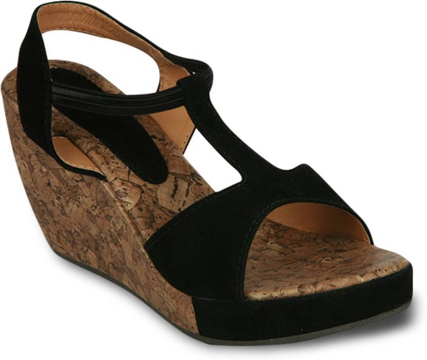 genuine online deals online Bora Bora Black Wedges Heels buy cheap best wholesale shop 35gm4JSbR