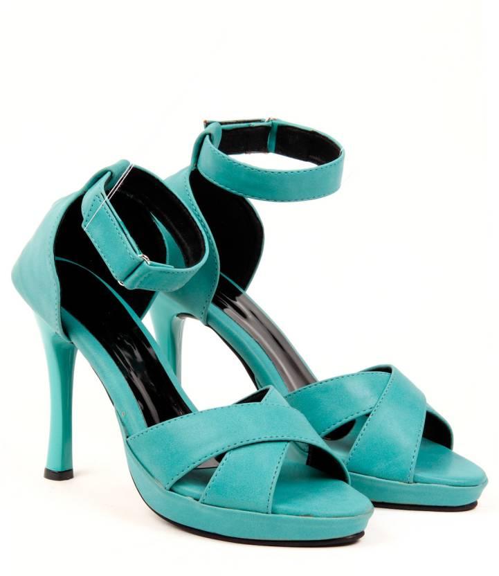 3505514de0f Fiorella Women Turquoise Heels - Buy Turquoise Color Fiorella Women ...
